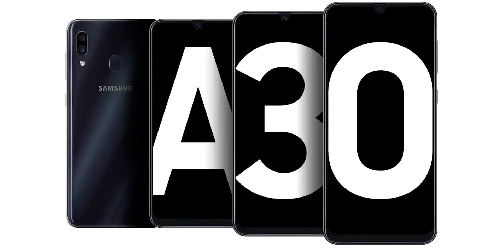Celular SAMSUNG A30 64GB DS 4G Azul Alkosto Tienda Online